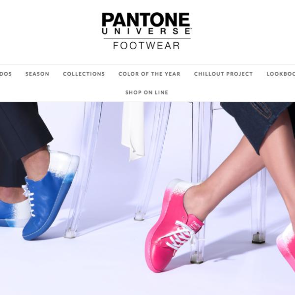 Pantone Footwear
