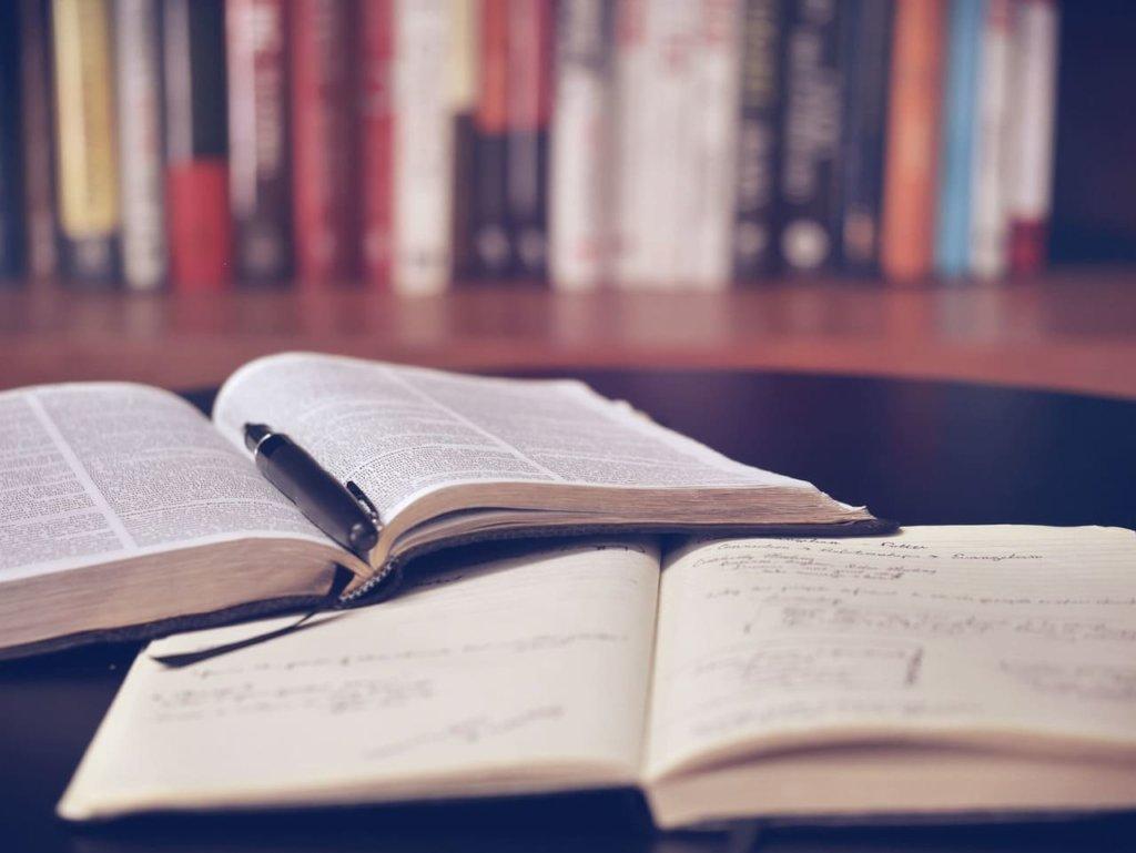 Libro e appunti buoni propositi