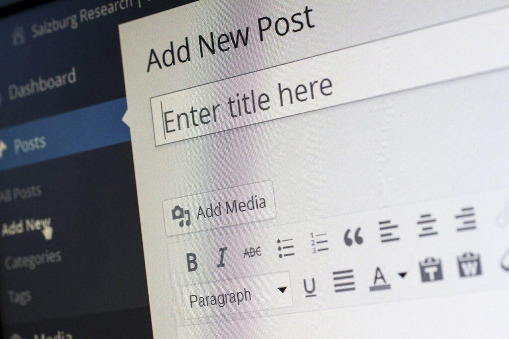 scrivere un articolo blog