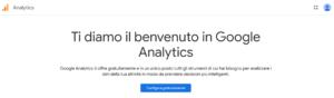 configura Google Analytics